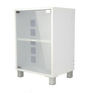 Waschtischunterschrank Badschrank Badezimmermobel Glastur Schrank