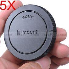 5x Body Cover Cap for Sony E-mount Camera a5000 a3000 NEX-7 NEX-6 NEX 5 5N 5R