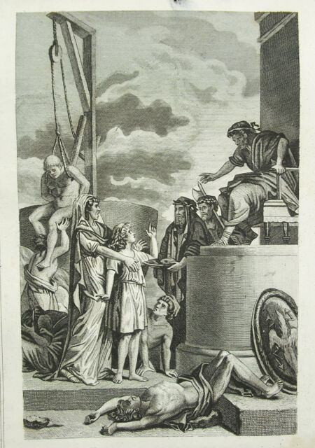 Martyre A Mother And of His Son Martyrdom of A Mother And Her Sons c1850 Print