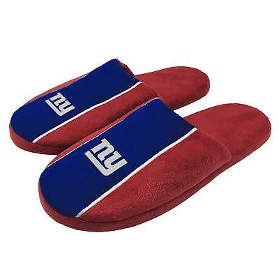 Forever Collectibles NFL New York Giants Mens Slip On Slippers