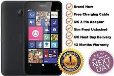 New Nokia LUMIA 635 8GB Sim Free Unlocked WIFI 4G LTE Black Windows 8 Smartphone