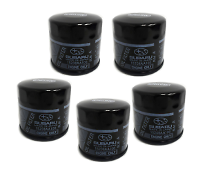 Details about 5X GENUINE SUBARU FB ENGINE OIL FILTERS 15208 AA160  Equivalent to Z411