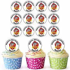 Paw Patrol Marshall 30 Personalizado precortadas Comestible Cupcake Toppers chicas chicos