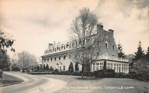 The-Hotchkiss-School-Infirmary-Lakeville-Connecticut-Early-Postcard-Unused