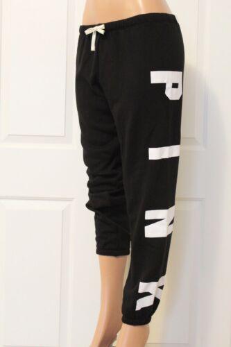 Gym Victoria's Medium Pantaloni Black d Yoga Secret Size classici 787 Pink Nwt AtxfqnA