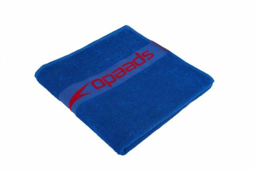 Speedo Border Towel Sports Bath Gym Quick Drying Swimming Camping Beach