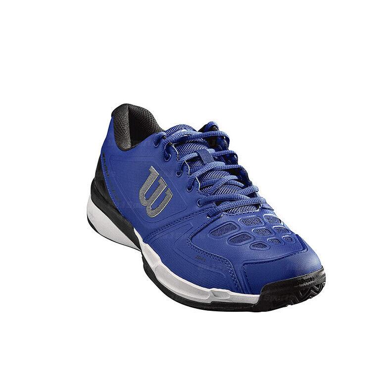 Wilson Rush Comp mannen Tennis schoenen Sports Athletic blauw WRS32710