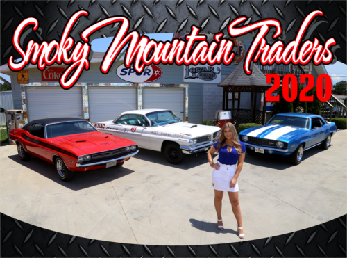 2021 Smoky Mountain Traders CalendarClassic Car Calendar Memorabila
