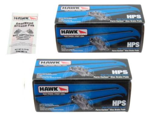 Hawk HPS Brake Pads Front /& Rear 350Z 370Z G35 G37 FX35 M35 Q45