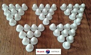 Chef-Jacket-Buttons-50-X-NEW-White-Chefs-Stud-Button-Replacement-Set-Fifty-Pack