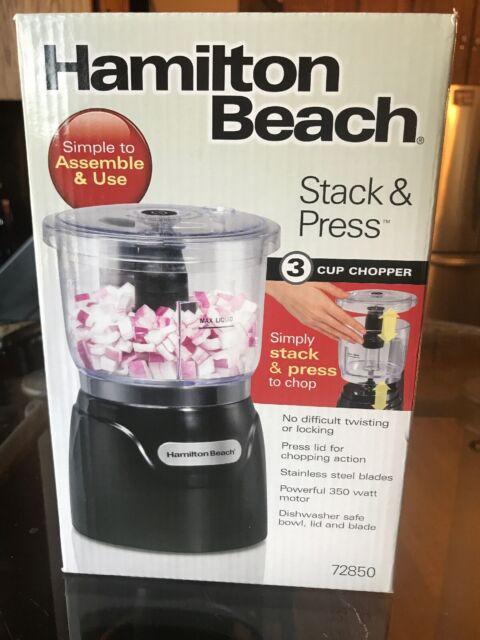 Hamilton Beach (72850) Food Processor Mini Chopper, 3 Cup, Electric, Black