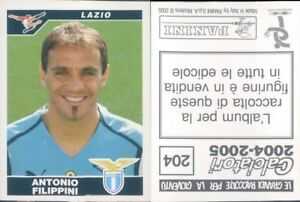 CALCIATORI-PANINI-2004-05-Figurina-sticker-N-204-NEW