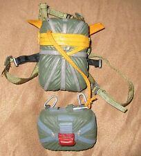 1/6 scale Parachute back pack-paracaídas mochila Mountain Rescue Bag Harness