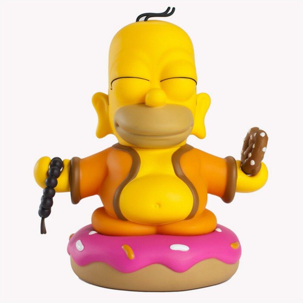 Kidrobot x Simpsons HOMER SIMPSON BUDDHA 7  VINYL ART FIGURE statue figurine