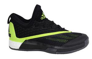 online store 1af91 c0151 Caricamento dell immagine in corso Adidas-Crazylight -Spinta-2-5-con-Lacci-Nero-