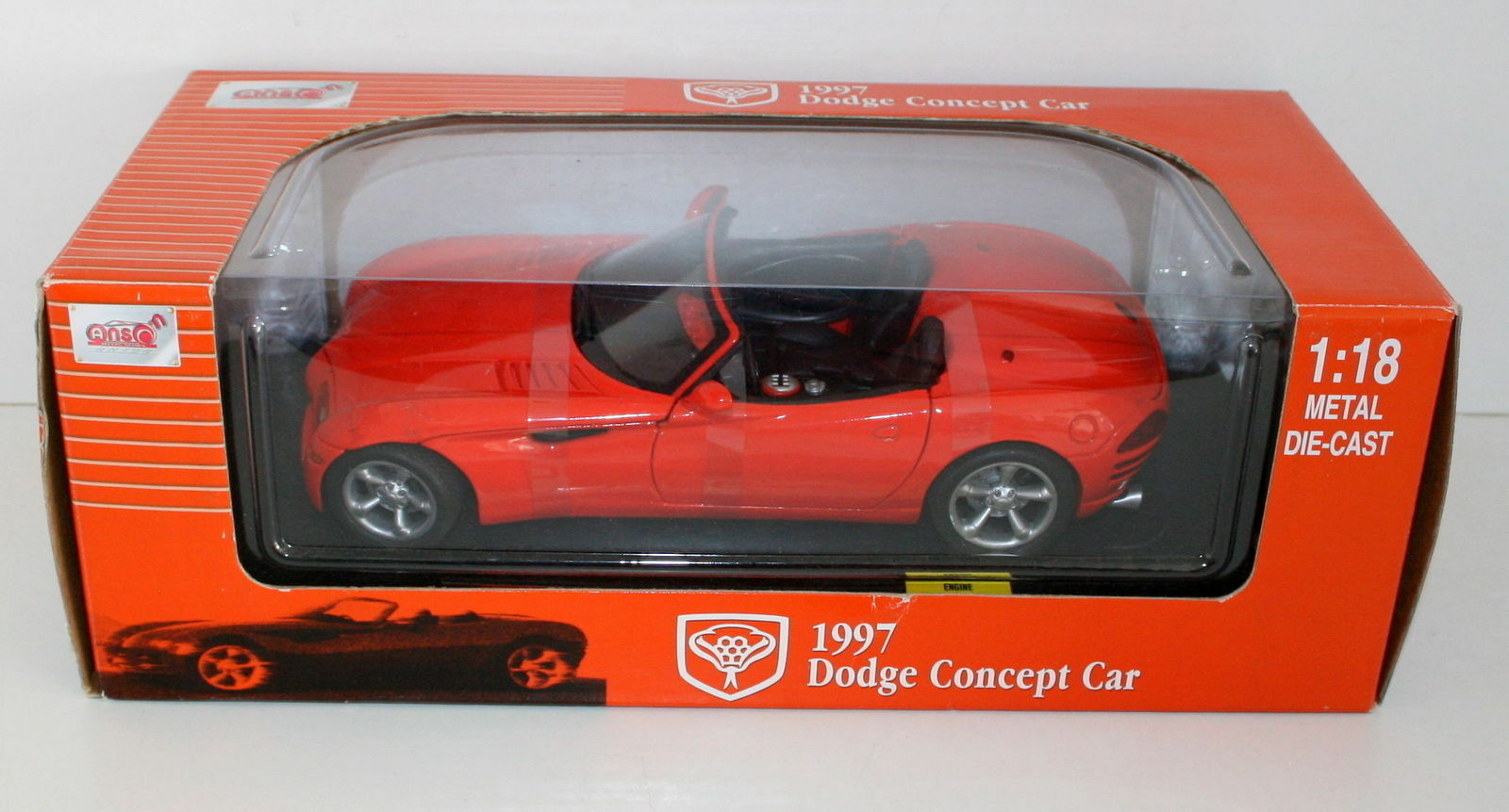 nuevo estilo ANSON 1 18 30333 DODGE DODGE DODGE 1997 CONCEPT Coche naranja  precios bajos todos los dias