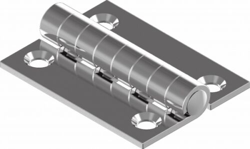 Scharnier Edelstahl A2 gestanzt 40 x 30  ARBO-INOX