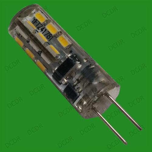4x 1.5 W G4 12 V Capsule DEL Ultra Basse Énergie Ampoule Halogène De Remplacement