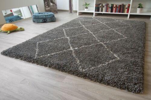 Designer tapis moderne Marrakech berbère style losange Floral NEUF