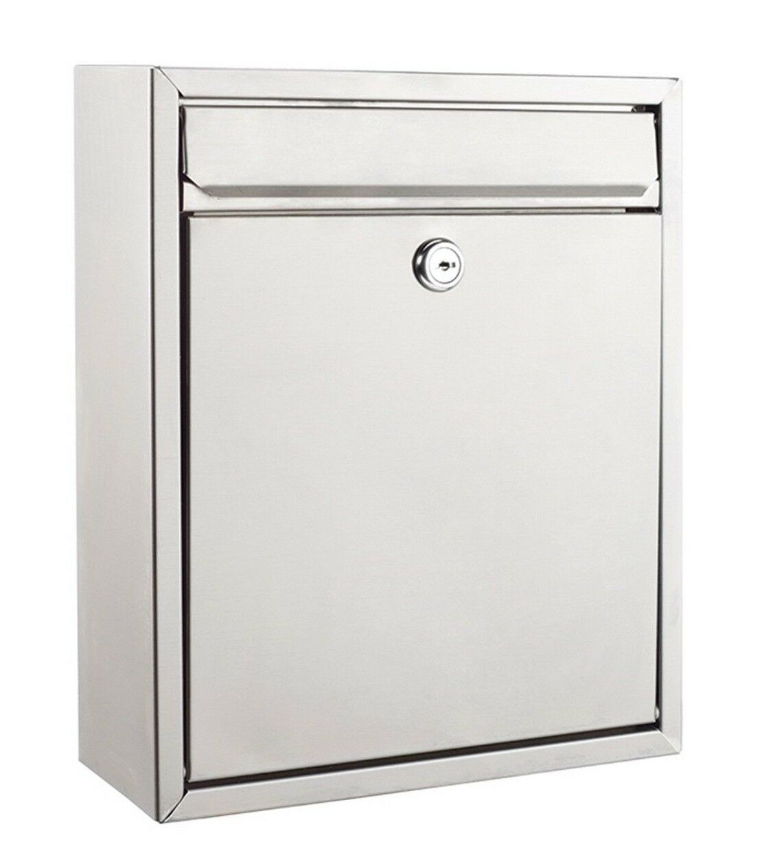 Sandleford NAPOLI WALL MOUNT LETTERBOX A4 260x310mm Stainless Steel Aust Brand