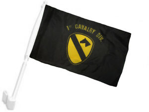 2x3 2/'x3/' Wholesale Combo USA American /& 1st Cavalry Army Black Flags Flag