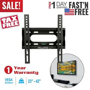 Fixed-Slim-TV-Wall-Mount-Bracket-For-23-034-26-034-27-034-32-034-37-034-40-034-42-034-inch-LED-LCD