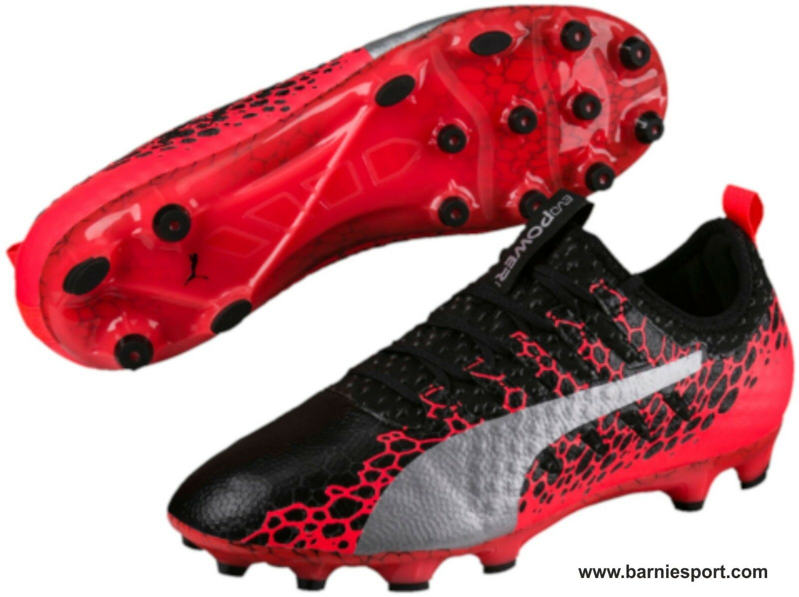 Größe 10. PUMA evoPOWER VIGOR 1 AG ASTRO TURF FOOTBALL Stiefel.  NEW   SAVE