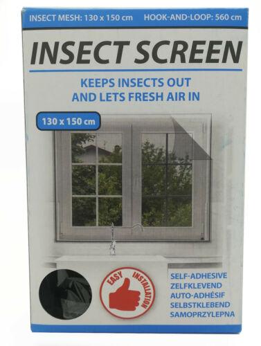 Protection Insectes Fenêtre Moustiquaire Polyester même adhésive Velcro Tissu