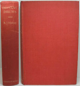 1935-ANGLO-INDIAN-NOVEL-SET-IN-ENGLAND-amp-INDIA-DISTANT-DRUMS-BY-R-J-MINNEY