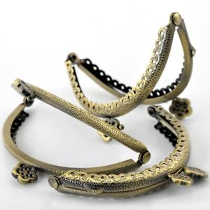 10Pcs-High-Quality-Clutch-Coins-Purse-Arc-Frame-Kiss-Clasp-Flower-Handbag-Handle