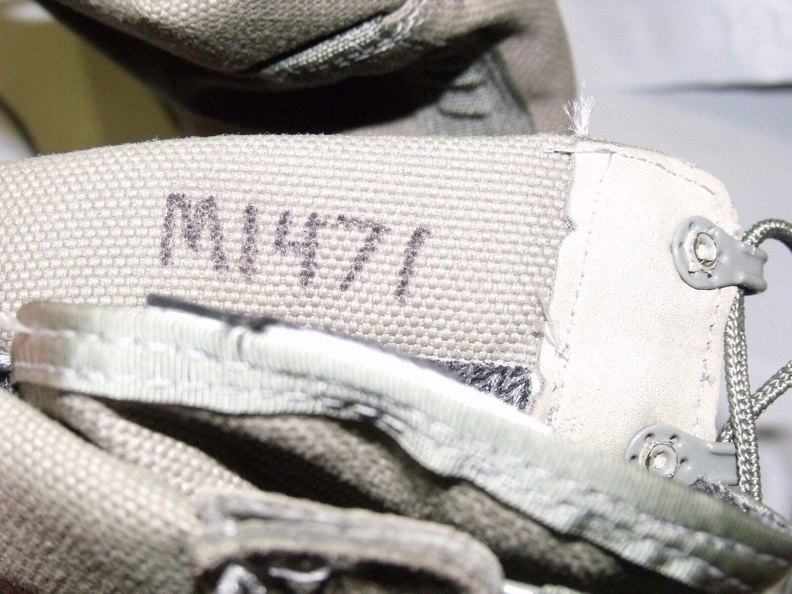 Military Boots 12.5 R Sage verde McRae Flight Waterproof USAF Flight McRae GoreTex 353 Issued ea9b05