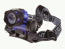 High Power Long Range 5W LED Zoom HeadLight Headlamp FlashLight