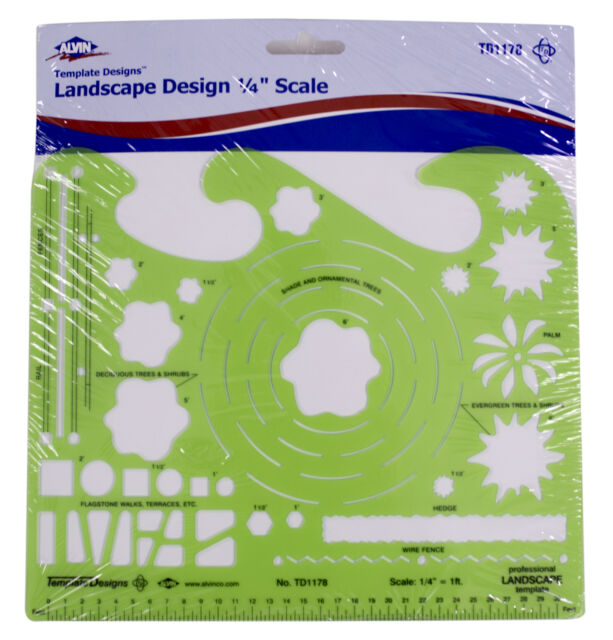 Alvin Jumbo Circle Template Stencil TD495 Art Design Architecture Lot of 5
