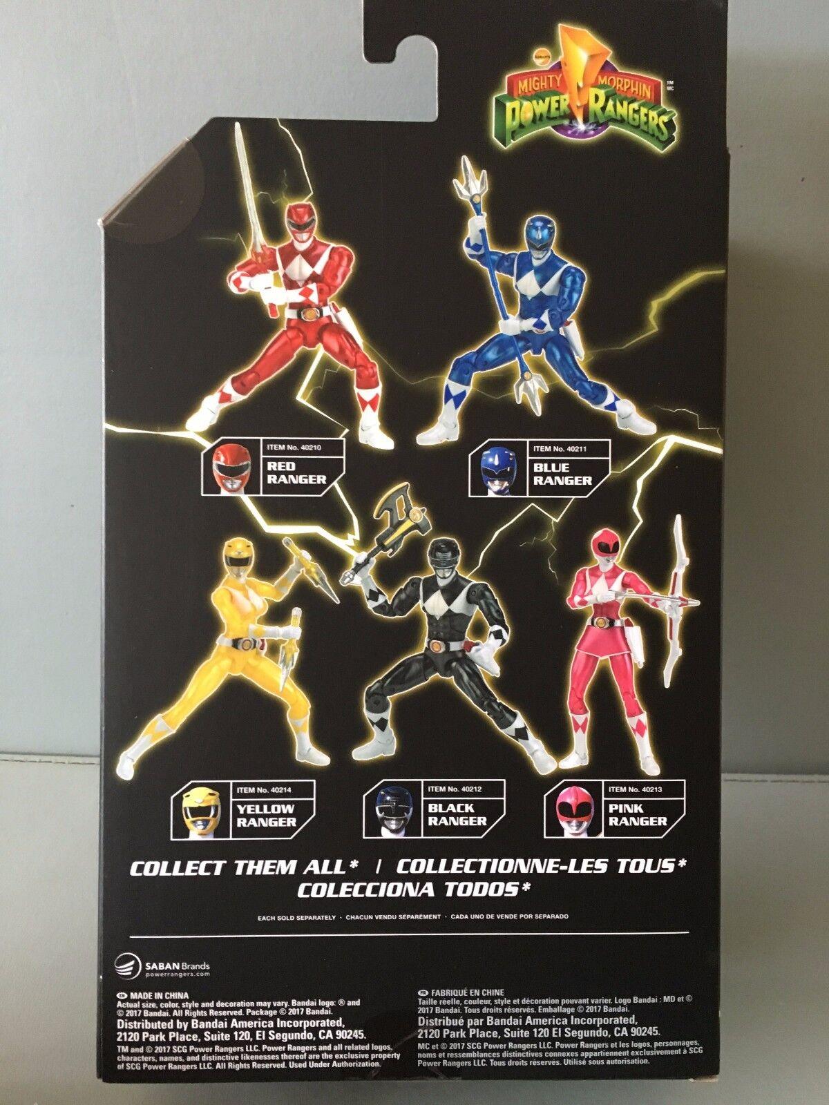 Power Ranger Legacy 16.5cm 16.5cm 16.5cm Metallic Yellow Ranger MISB  New in sealed box 8e68b0