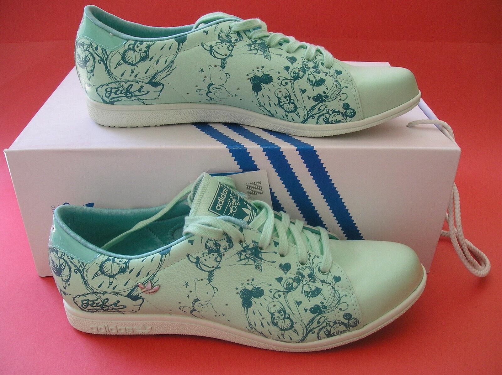 RARE LTD ED~Adidas STAN SMITH LACE SLEEK sz honey superstar fafi Shoe~Womens sz SLEEK 7.5 498fa0