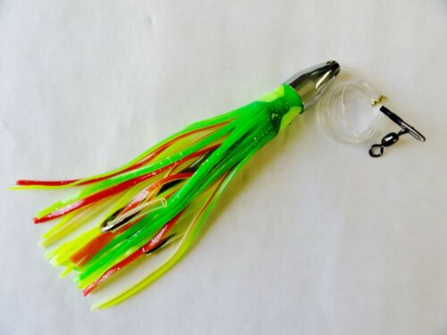 Balle Jet Head truquées Mexica Saltwater TROLLING FISHING LURES 7 in environ 17.78 cm 1 PIECES