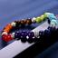 miniature 6 - 7 Chakra Healing Tiger Eye Natural Stone Yoga Energy Beads Bracelet Jewelry Hot