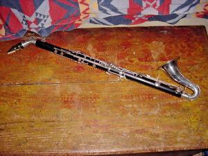 Vintage The Peddler Co. Holz Alto Klarinette Original Case Elkhart Indiana 1950S