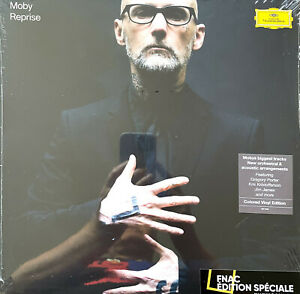 Moby 2xLP Reprise - Limited Edition, Grey Vinyls - Europe