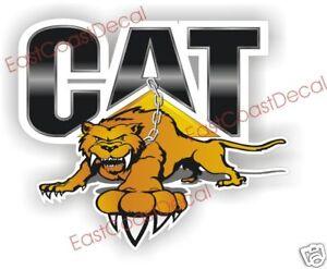 CAT Backhoe jcb Loader DECAL /& Ford CUSTOM deer DECALS