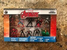 Marvel Avengers Jada Nano Metalfigs 10 Pack Collector/'s Set 6 Exclusive Figs NEW