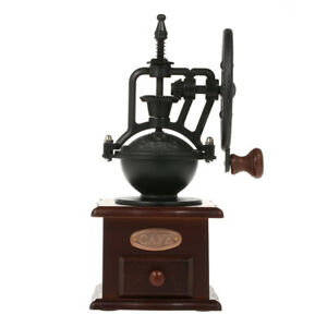 Coffee Mill Cast Iron Hand Crank