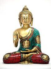 Buddha Statue Medicine Tibet Brass Tibetan Buddhist Chinese Buddhism Figure Old