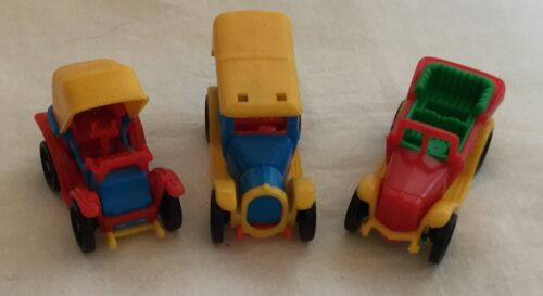 Bruder Mini Vintage Antique Toy Cars Snap Together Plastic Made In Germany #9