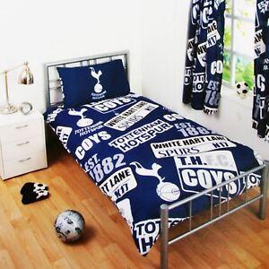 Tottenham-Hotspur-Fc-Set-Housse-de-Couette-Simple-Spurs