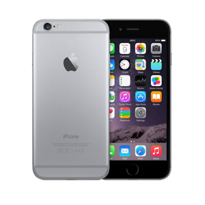 APPLE-IPHONE-6-16-GB-NOIR-GREY-CASSE-DEFECTUEUX-CARTE-MERE-PIECES-DE-RECHANGE