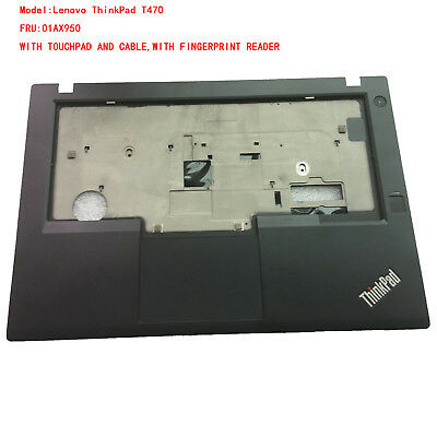 Lenovo ThinkPad T440S Palmrest SB30G78789 Bezel with Touchpad 00HM813