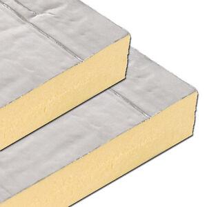Foil Faced Insulation Board 2400x1200 Sheet Multiple
