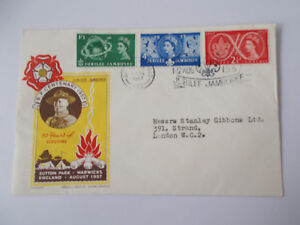 1957-Jubilee-Jamboree-Fdc-Sutton-Coldfield-Cds-with-Slogan-T2-Addressed-to-S-G