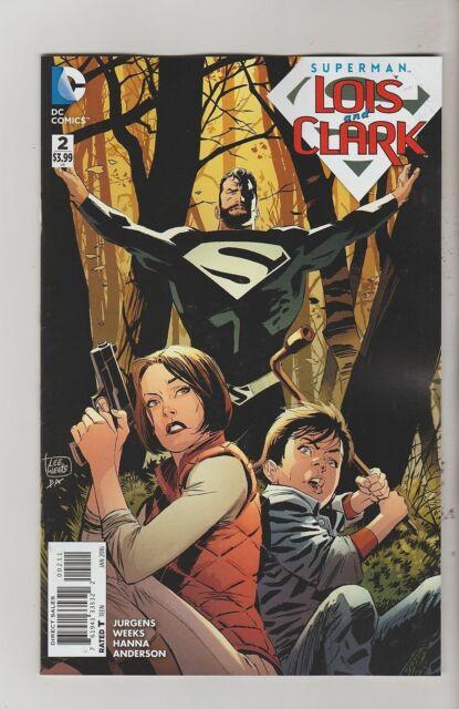 DC COMICS SUPERMAN LOIS & CLARK #2 JANUARY 2016 1ST PRINT NM